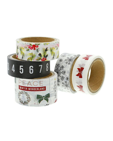 Christmas Story Collage Washi Tape - Teresa Collins Studio