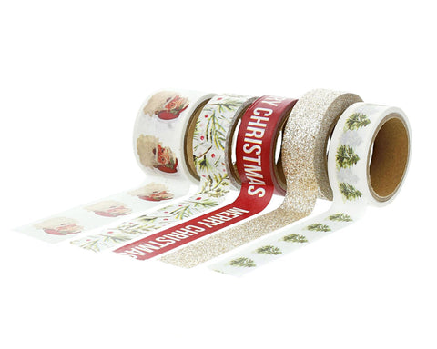 Christmas Story Santa Washi Tape - Teresa Collins Studio