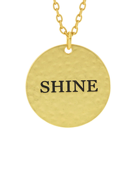 Shine Gold Necklace