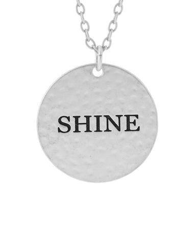 Shine Silver Necklace