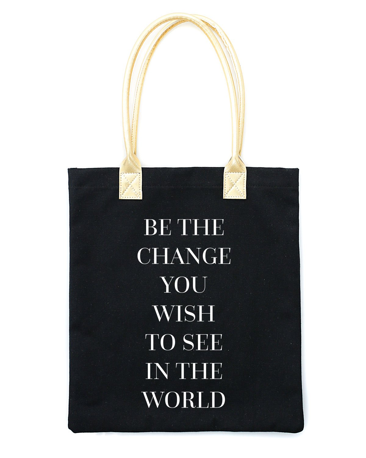 Be the Change Tote Bag - Teresa Collins Studio