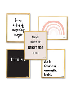Bright Side Print Set