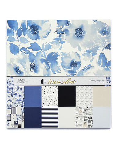 Azure Paperie Paper Collection - Teresa Collins Studio