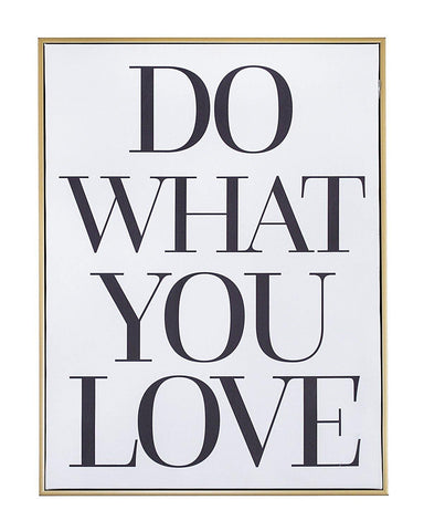 Do What You Love Wall Art - Teresa Collins Studio