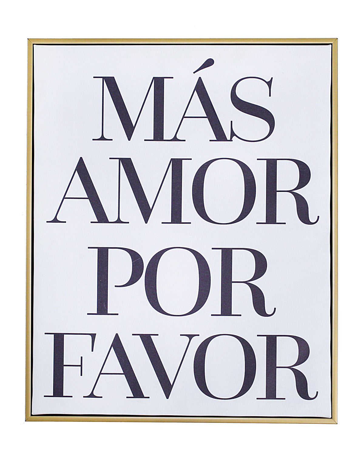 Mas Amor Wall Art