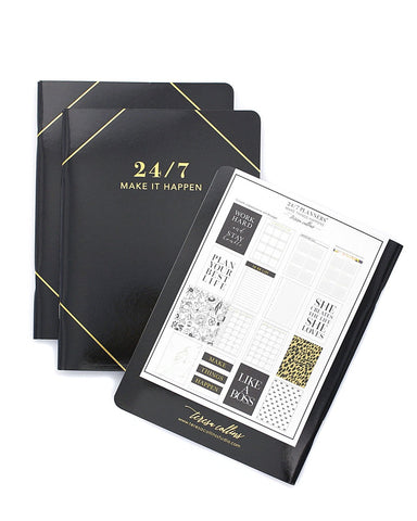 24/7 Make it Happen Planner - Teresa Collins Studio
