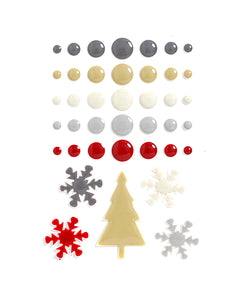 Tinsel and Company Enamel Dots & Shapes