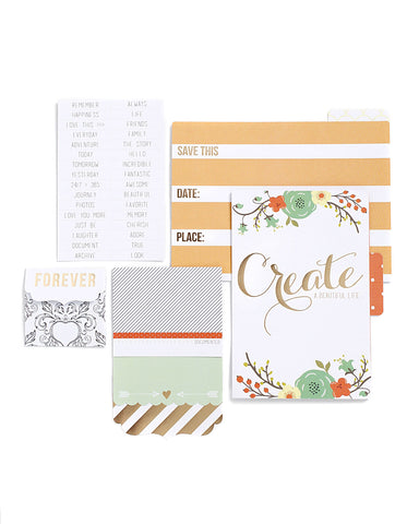 Nine & Co Foiled File Folders & Flaps