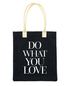 Do What You Love Tote Bag | Black - Teresa Collins Studio
