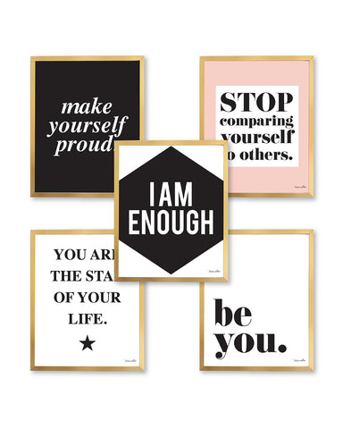 I Am Enough Print Set