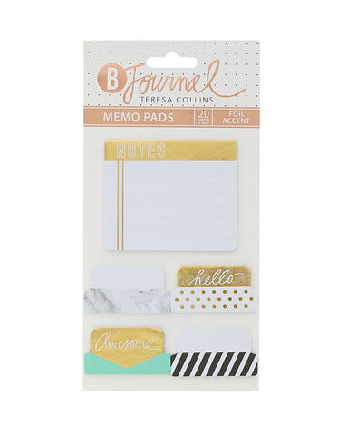 B-Journal Basic Memo Pads