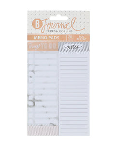 B-Journal Long Sticky Note Pads