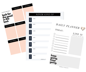 Positive Planning Pages - Teresa Collins Studio