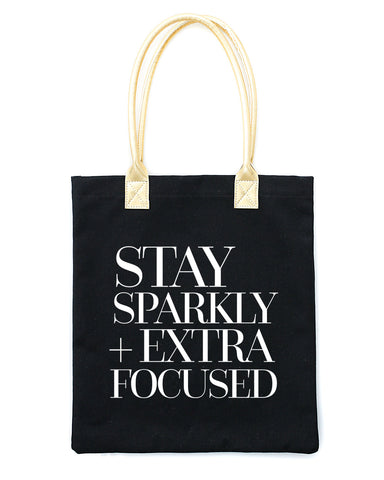 Stay Sparkly Tote Bag