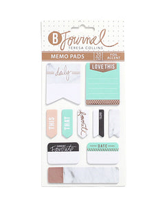 B-Journal Mini Memo Pads