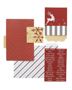 Candy Cane Lane File Folders - Teresa Collins Studio