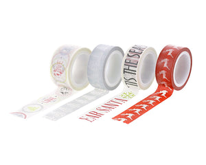 Candy Cane Lane Washi Tape