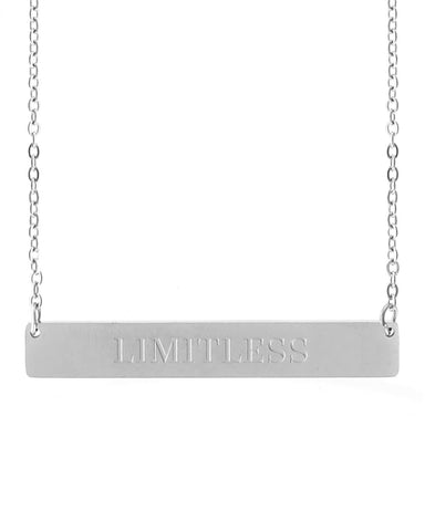 Limitless Bar Necklace | Silver - Teresa Collins Studio