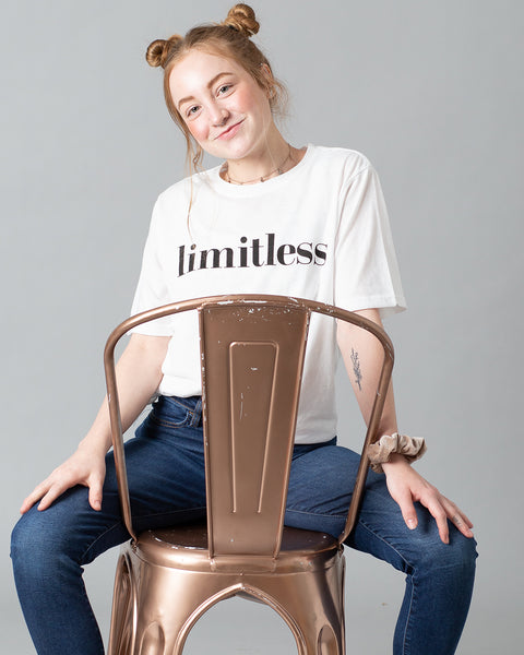 Limitless T-Shirt | White