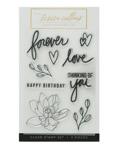 Forever Love Stamp Set - Teresa Collins Studio