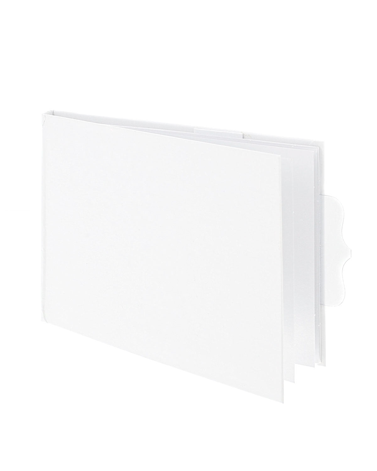 Signature Essentials 4 x 5.5 White Flip Book