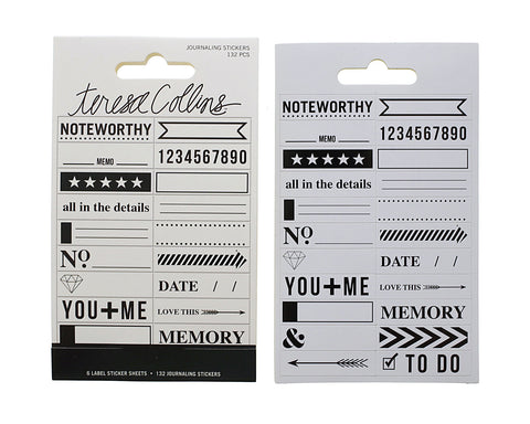 Signature Essentials Journaling Stickers