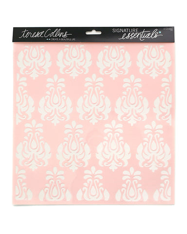 Signature Essentials 12 x 12 Damask Stencil