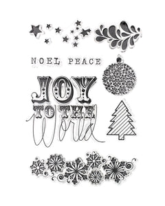 Tinsel and Company Clear Stamps