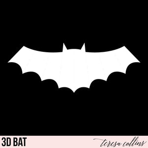 3D Bat - Teresa Collins Studio