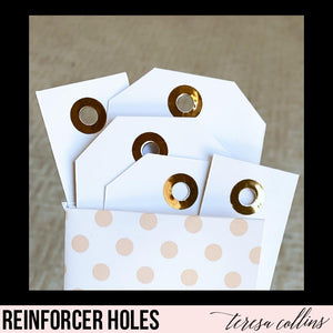 Hole Reinforcements - Teresa Collins Studio