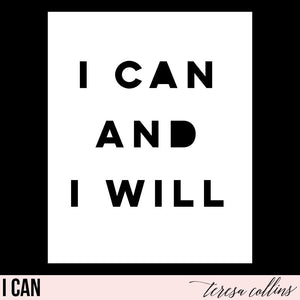 I Can - Teresa Collins Studio