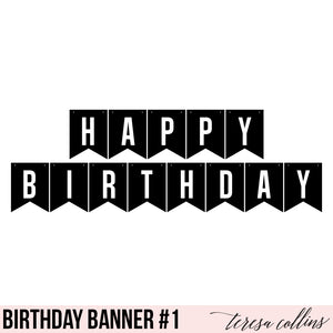 Happy Birthday Banner 1