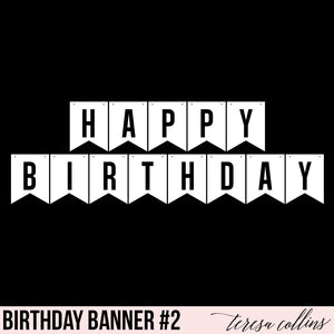 Happy Birthday Banner 2