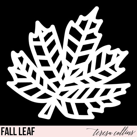 Fall Leaf - Teresa Collins Studio