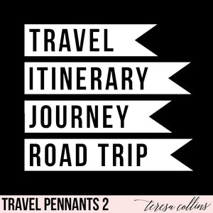 Travel Pennants 2