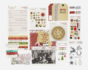 Candy Cane Lane Embellishment Pack - Teresa Collins Studio