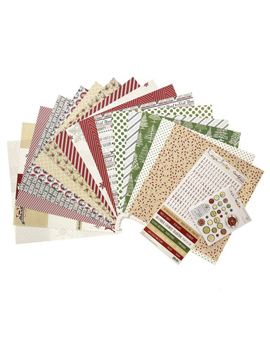 Candy Cane Lane Paper Collection - Teresa Collins Studio