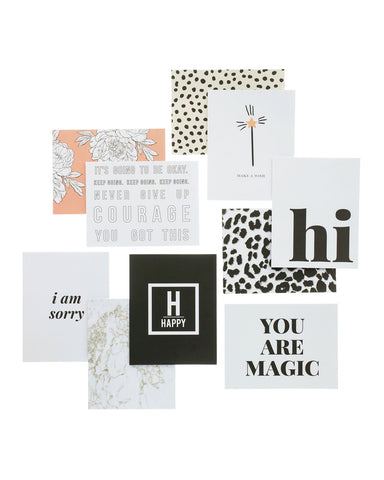 Hooray Designer Greeting Card Set