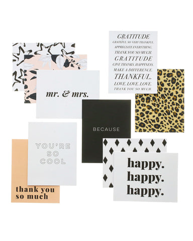 Happy Designer Greeting Card Set
