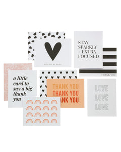 Heart Designer Greeting Card Set