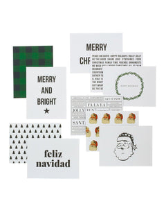 Christmas Designer Greeting Card Set - Teresa Collins Studio