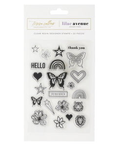 Lilac Avenue Stamp Set (Iconic)