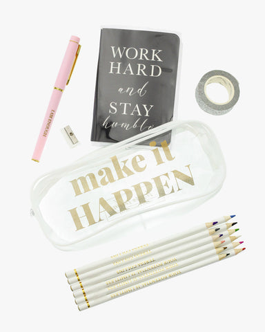 Make It Happen Empowerment Pouch
