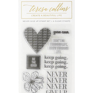 Empowerment Stamp 4 (Never Give Up)