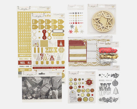 Tinsel and Company Embellishment Pack - Teresa Collins Studio
