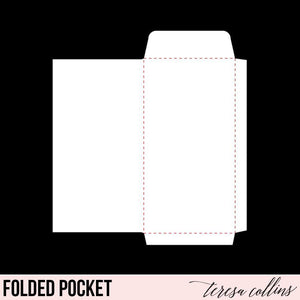 Folded Pocket - Teresa Collins Studio