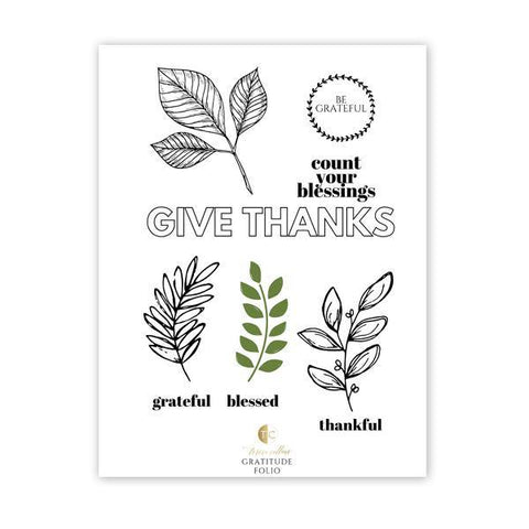 Give Thanks - Teresa Collins Studio