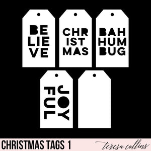 Christmas Shipping Tags 1