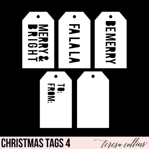 Christmas Shipping Tags 4