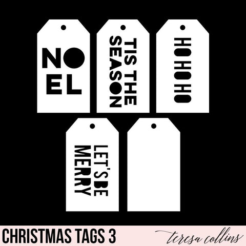 Christmas Shipping Tags 3